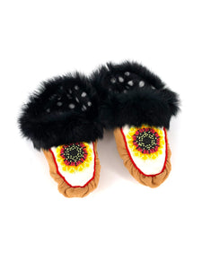 Women's Sunflower Slippers size 10 by Karen Nicloux