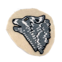 Beaded Wolf Patch Set by Karen Nicloux