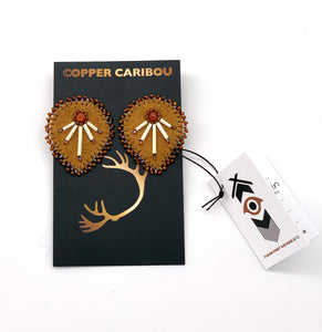 Droppin' Mad Quills Earrings by Copper Caribou