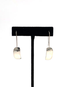 Small Inner Ovoid Earrings by Mark Preston