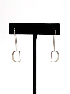 Small Ovoid Earrings by Mark Preston
