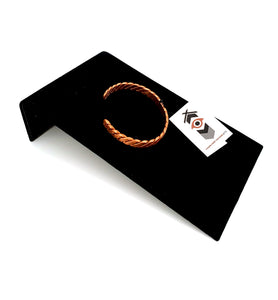 Medium Copper Bracelet by Laurie Bagshaw