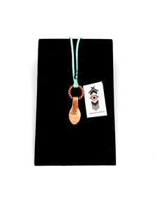 Copper Spoon Necklace by Laurie Bagshaw