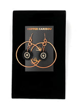 Various Copper Hoop Earrings by Copper Caribou