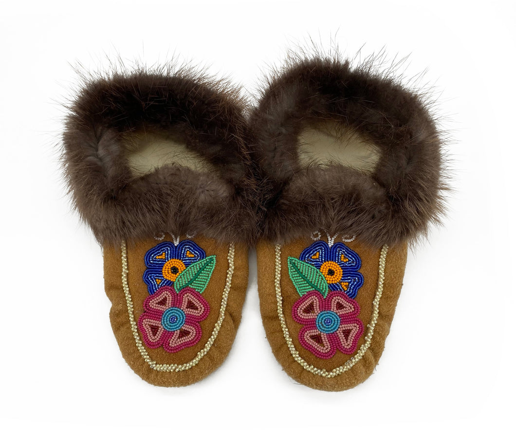 Beaded Slippers by Gertie Tom W/9 M/7