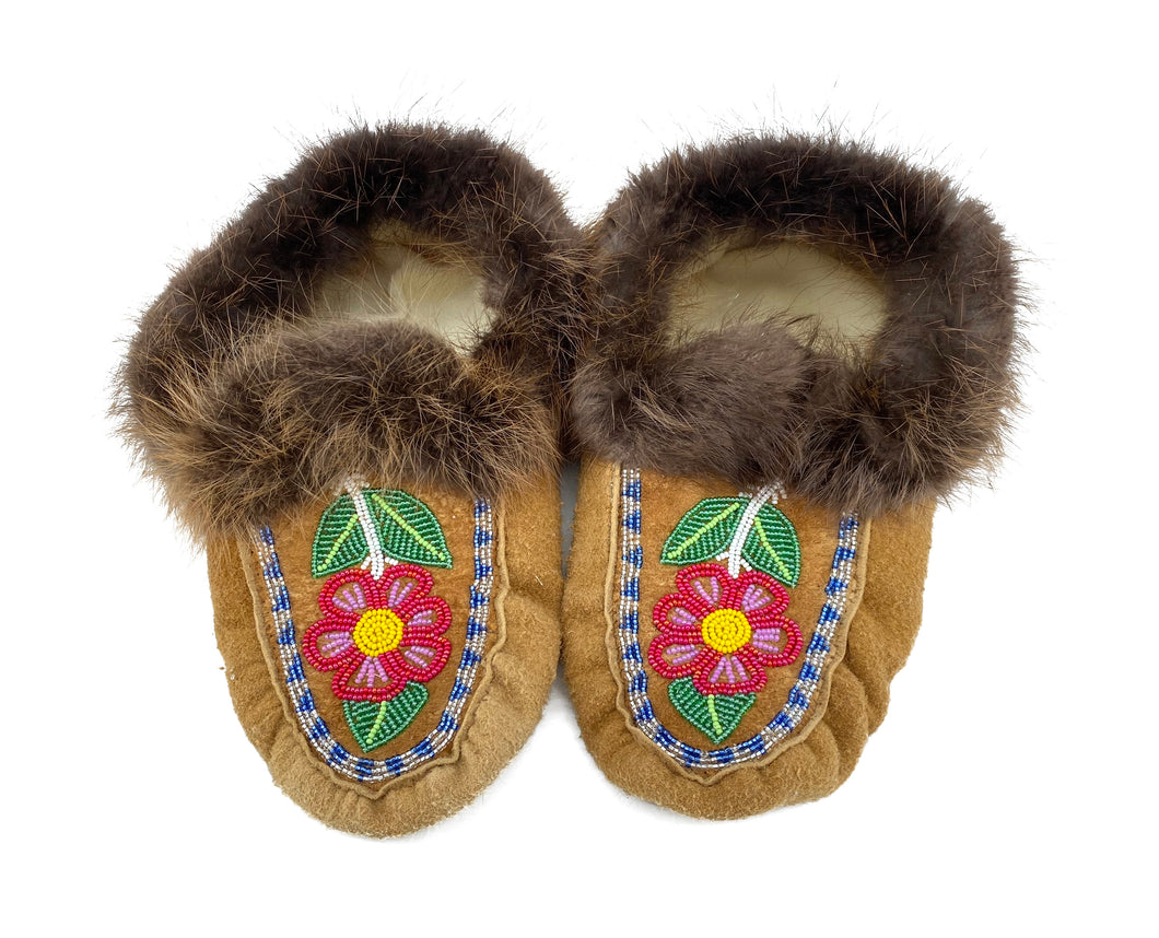 Beaded Slippers by Gertie Tom W/10 M/8