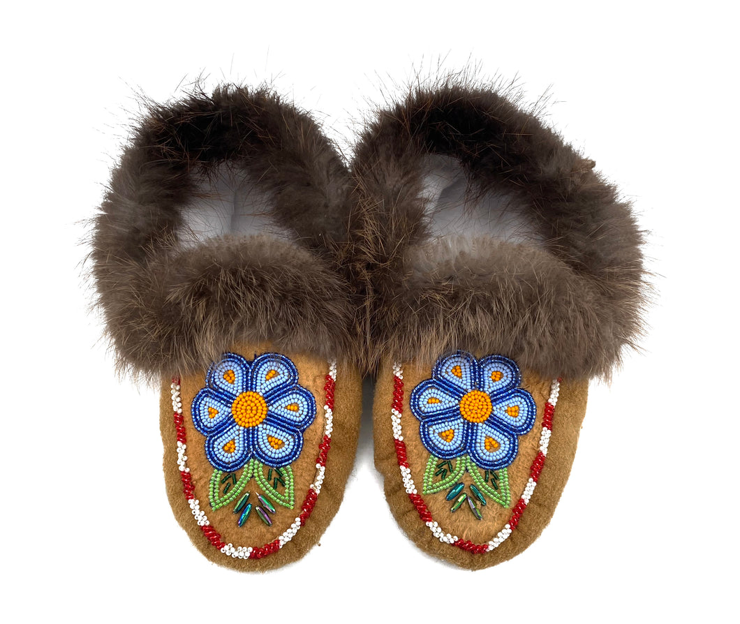 Beaded Slippers by Gertie Tom W/7