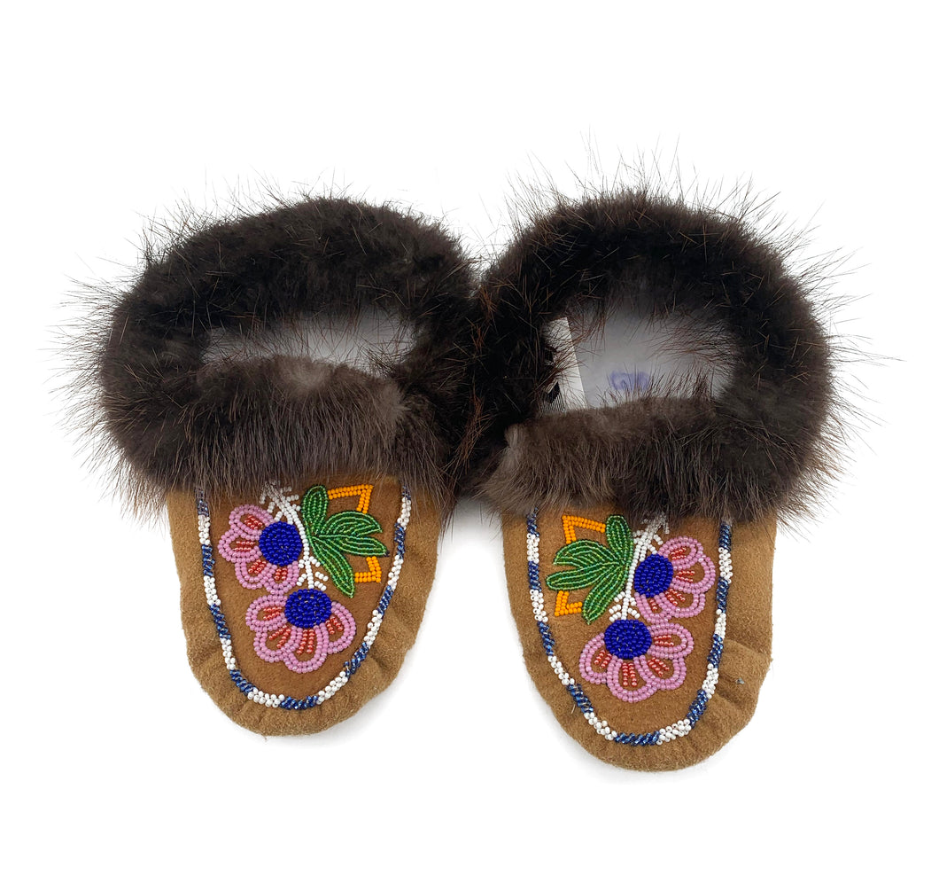 Beaded Slippers by Gertie Tom W/8-8.5