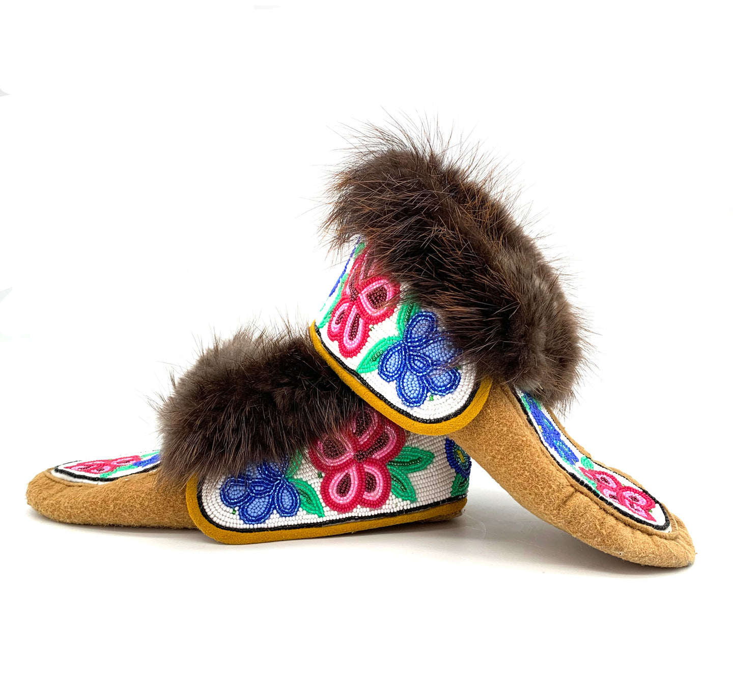 Beaded Crow Boots by Gertie Tom W/8-9 M/6-7