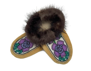 Beaded Slippers by Shirley Smith W/ 9