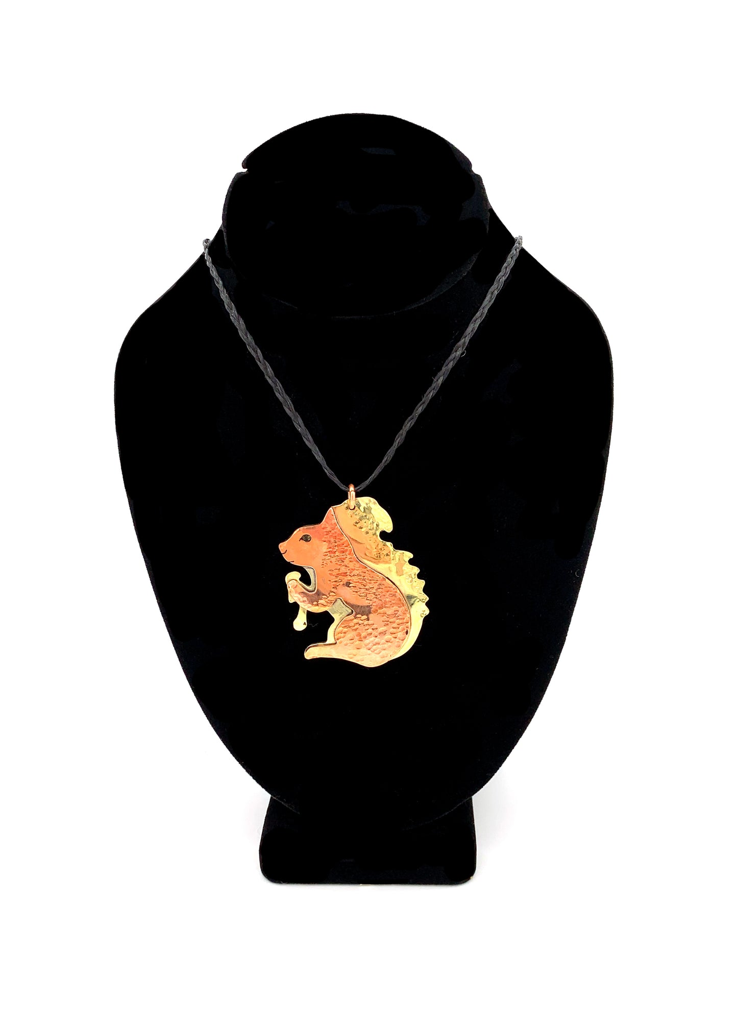 Benny the Squirrel Necklace by Dennis Shorty