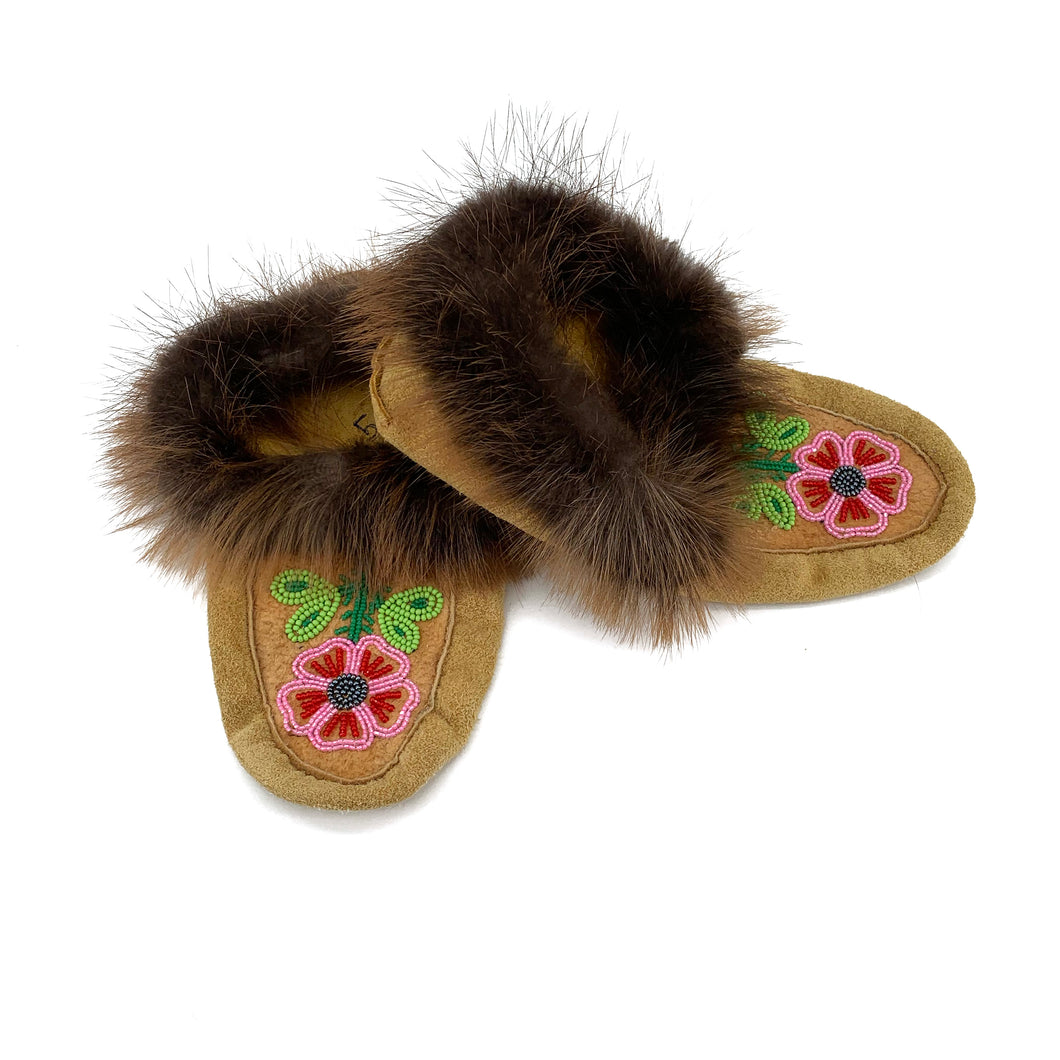 Beaded Slippers by Gertie Tom W/5