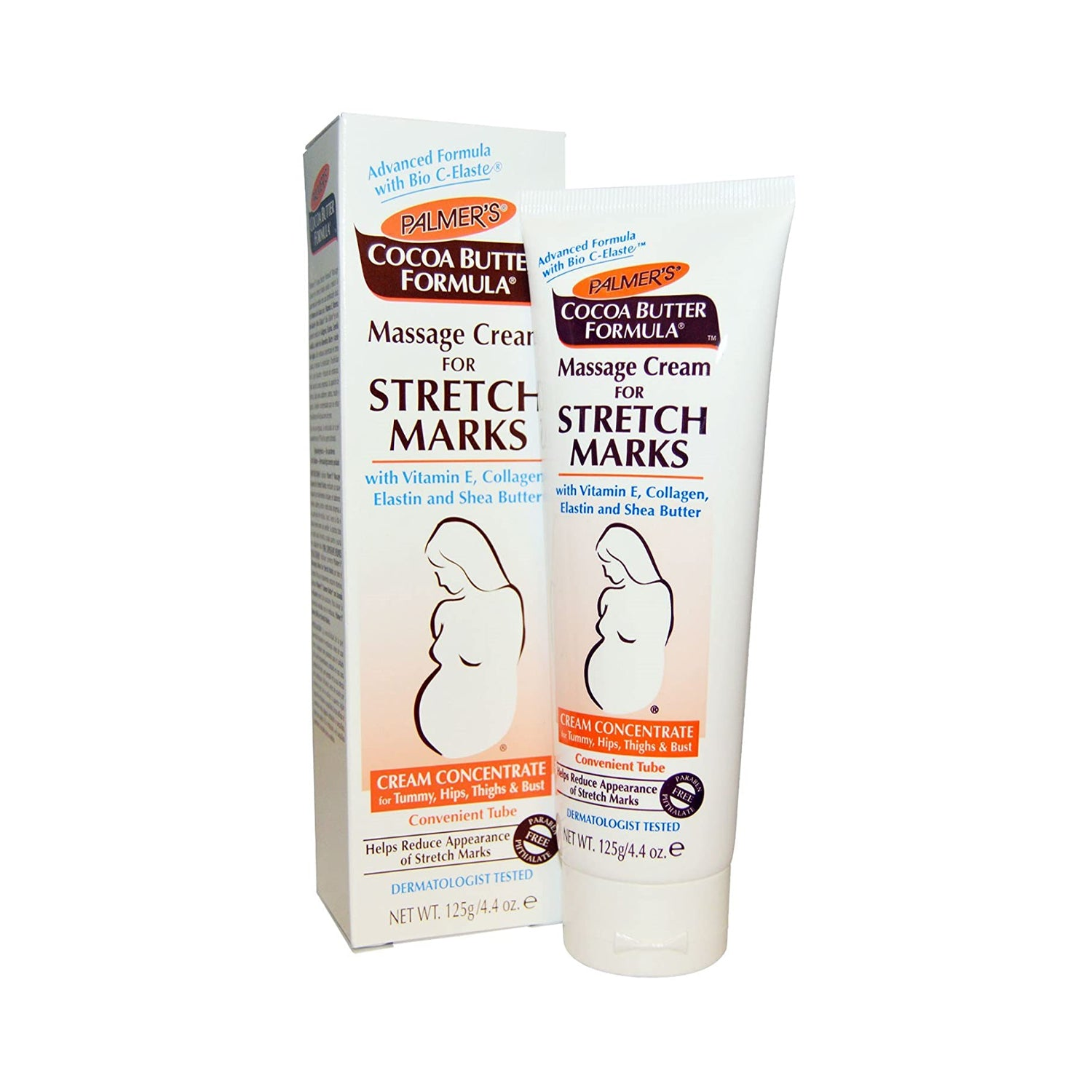 Palmer S Massage Cream For Stretch Marks 4 4oz Isales Beauty