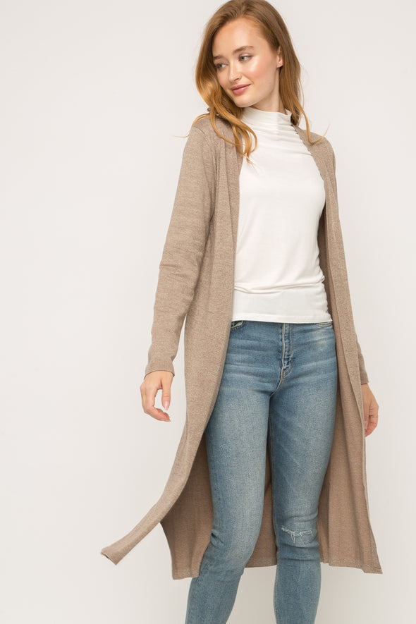 Go-To Neutral Duster Cardigan