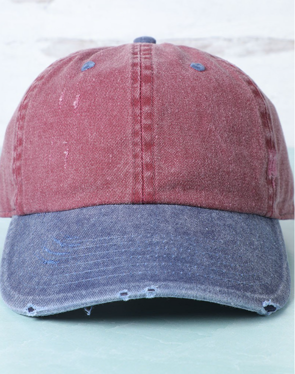 Two-Tone Baseball Hat