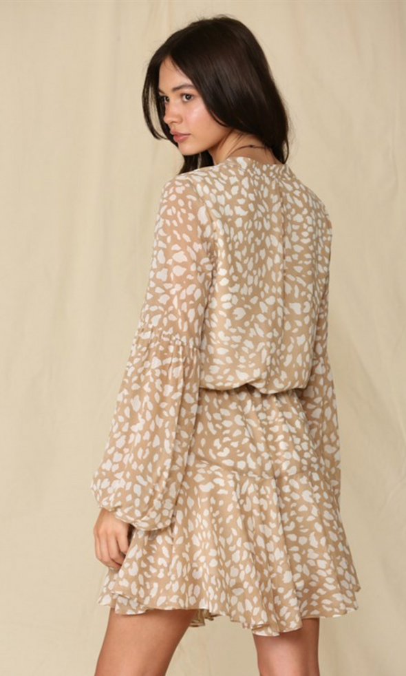 Leopard Spotted Dress
