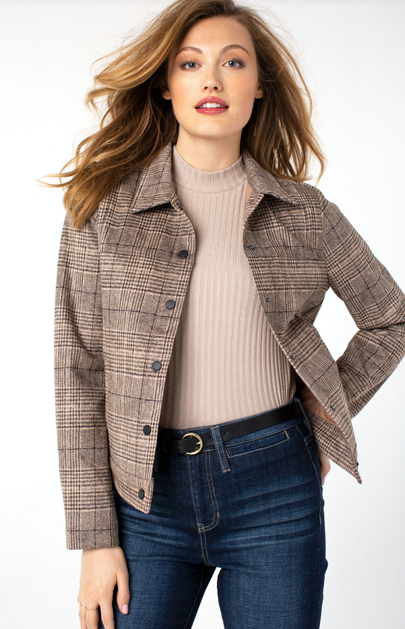 The Neutral Plaid Jacket