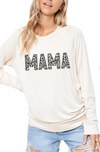Mama Leopard Graphic Top