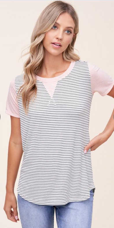 Spring Striped Tee