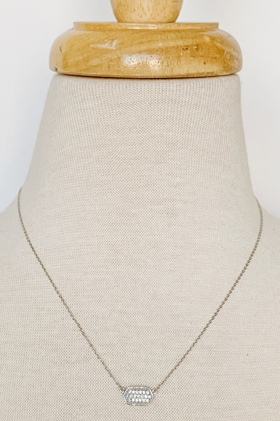 Simple Crystal Necklace II