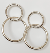 Classic Double Hoop Statement Earrings
