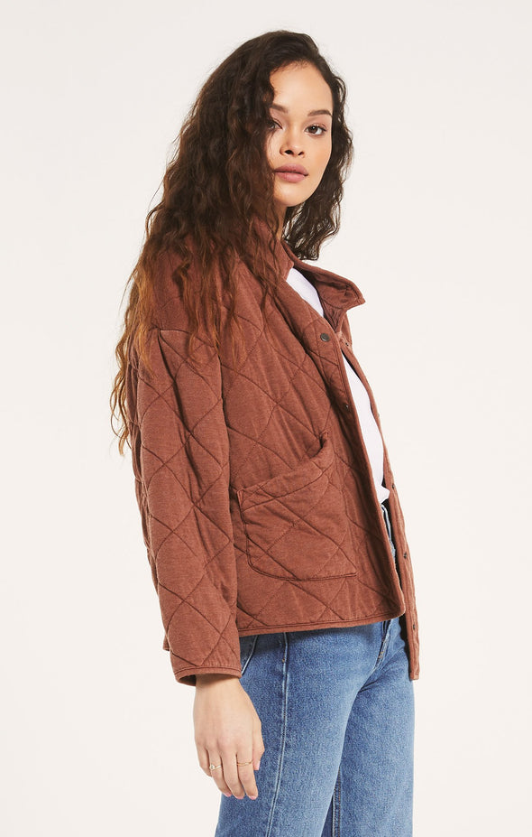 Fall Quilted Jacket
