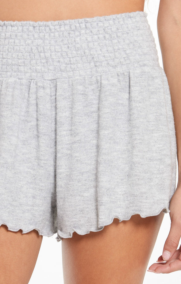 Soft Knit Smocked Shorts