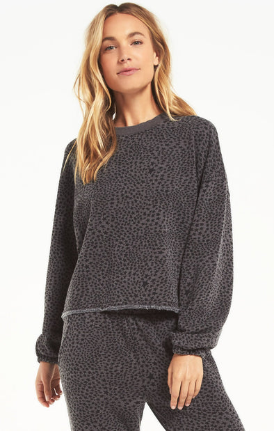 Stardust Cropped Pullover