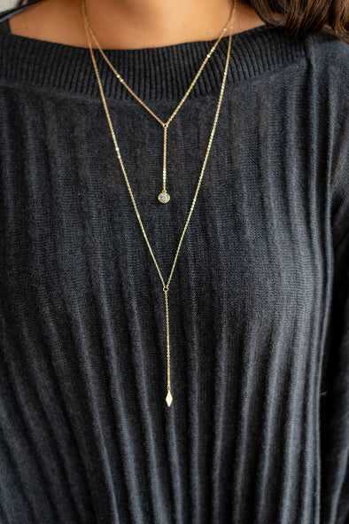 The Layered Druzy Necklace