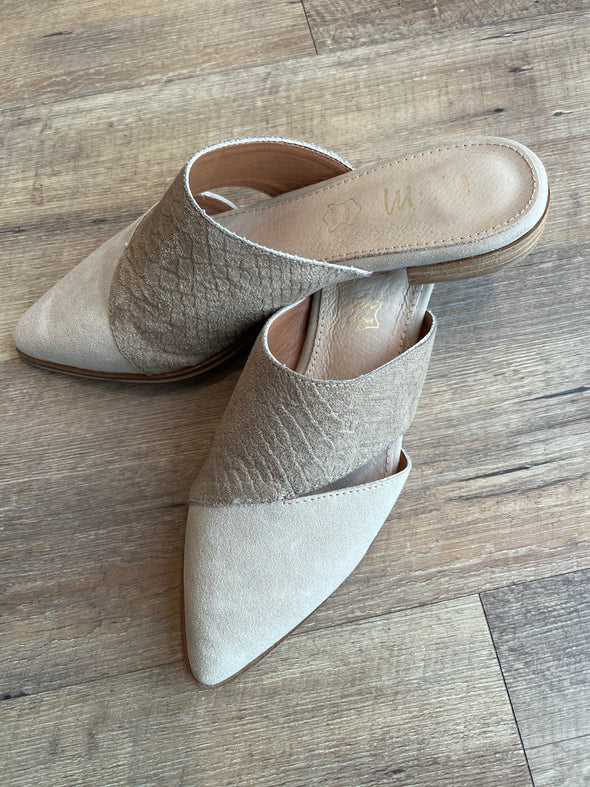 Two Tone Mules