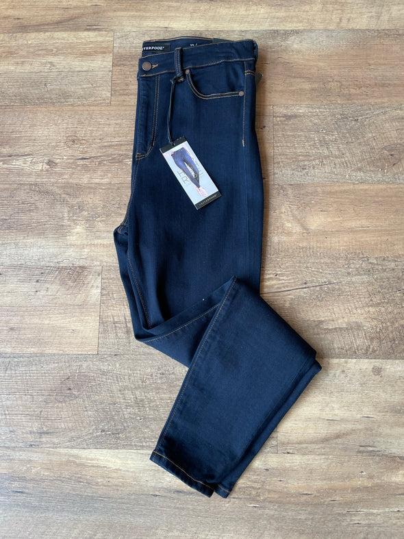 Ultra Dark High Rise Denim
