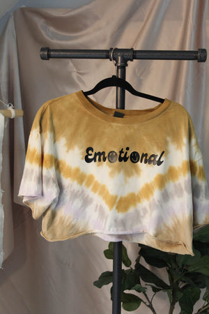 Emotional Tie Dye Crop Top