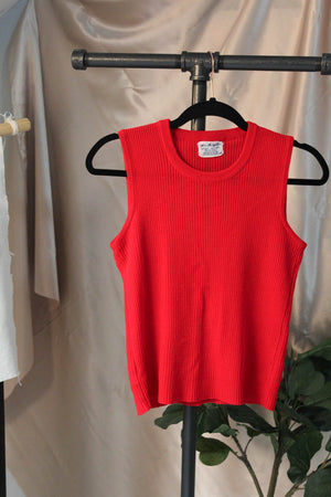 Vintage Red Sweater Vest