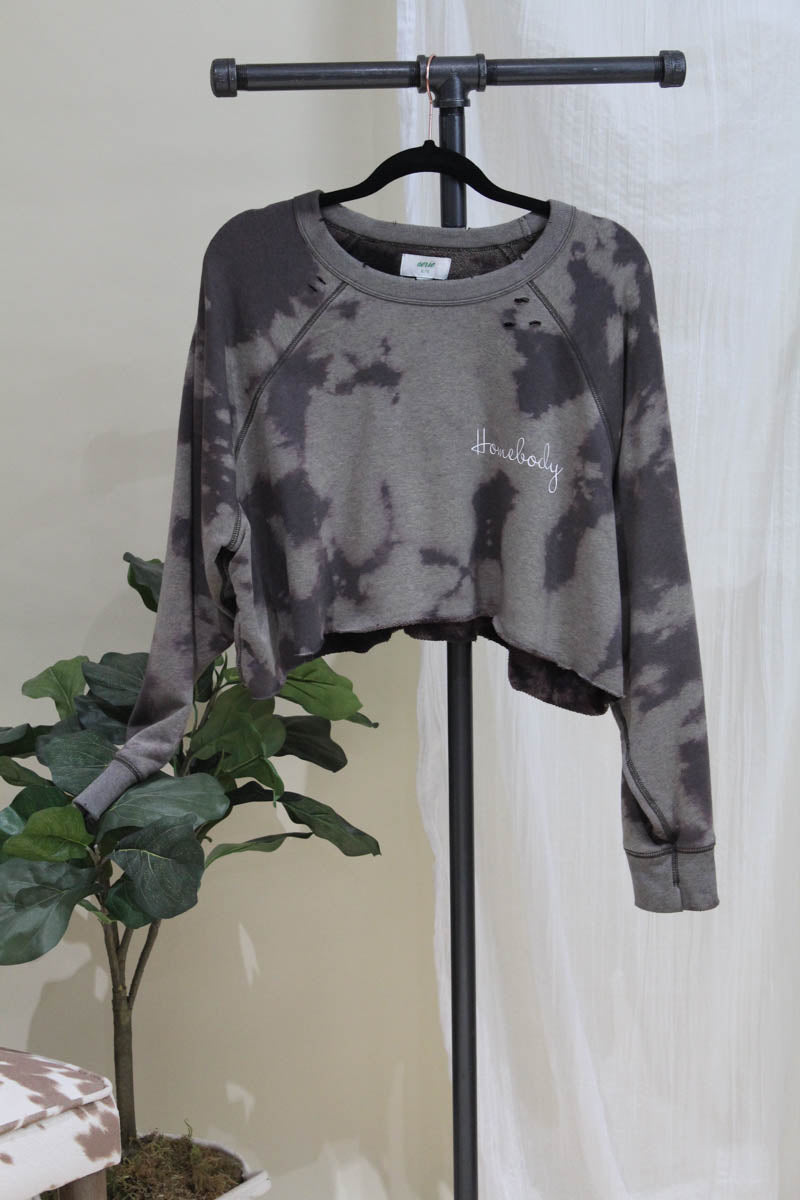 Homebody Crop Cozy Sweatshirt