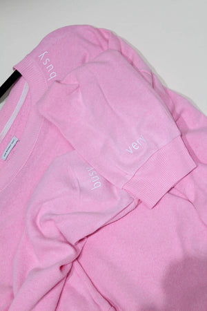 Pink Very Busy Neckline Sweatshirt