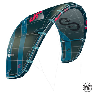 Eleveight Kites Rs V5 2021 Kite 5Mt / Dark Green