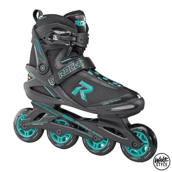 Roces Icon 80 Inline Skates Black/aqua