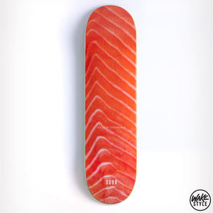 Sour Gustav Salmon 8.25 Skateboard Deck