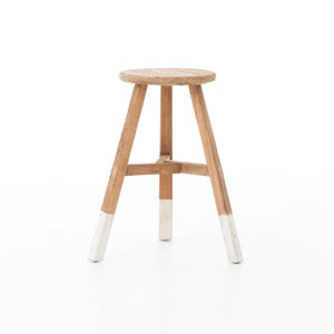 Astonishing White Dipped Stool Curated By Tk Gmtry Best Dining Table And Chair Ideas Images Gmtryco