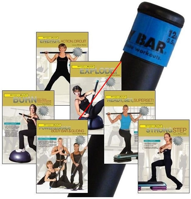 BB12+DVDs(cardio & strength)