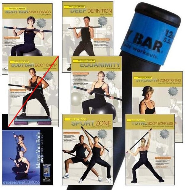 BB12+DVDs(strength & conditioning)