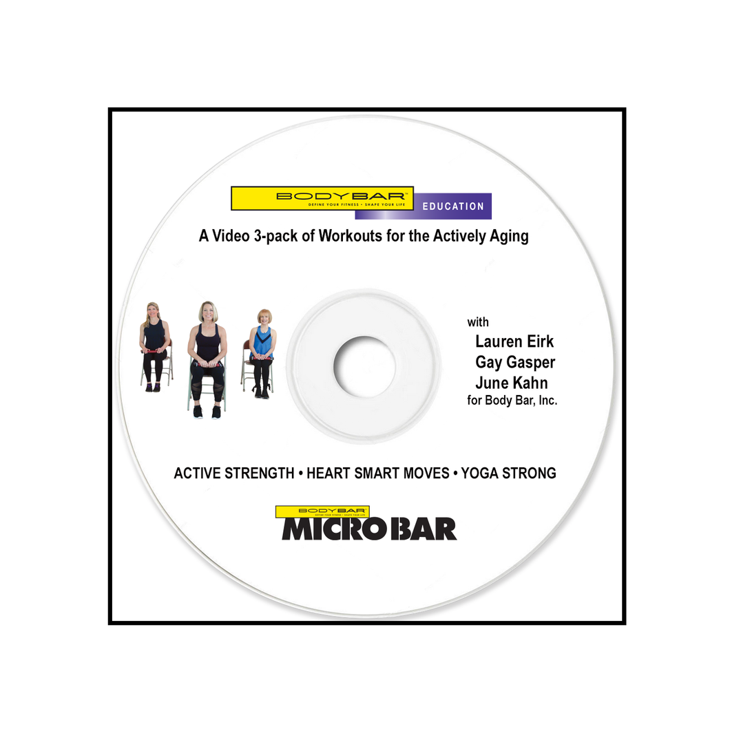 mp4 Active Aging Video 3-Pack