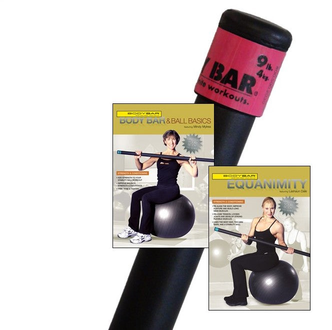 BB09+DVDs(stability ball)