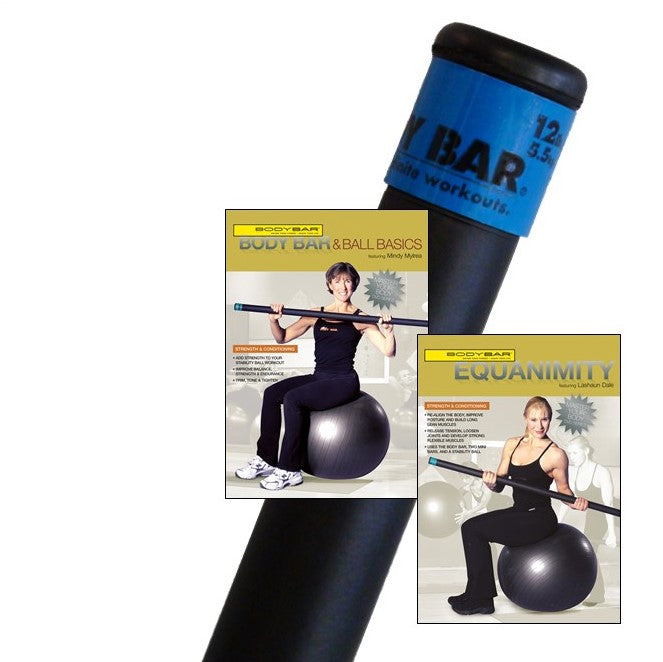 BB12+DVDs(stability ball)