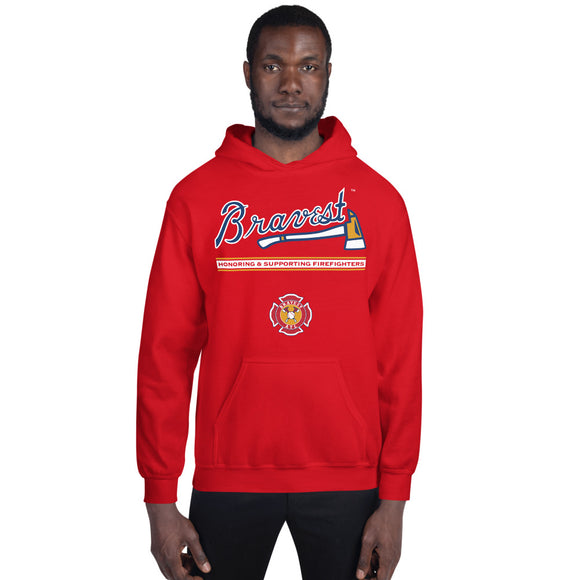 Bravest ATL Firefighters Pullover Hoodie