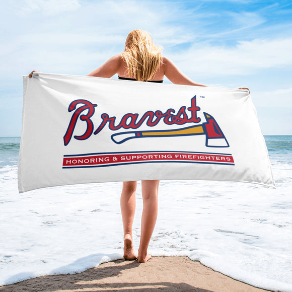Bravest ATL Beach Towel