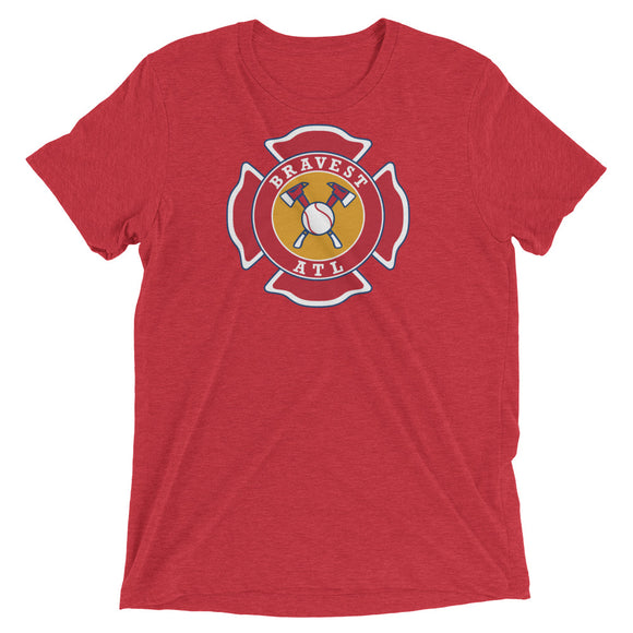 Maltese Cross tri-blend t-shirt
