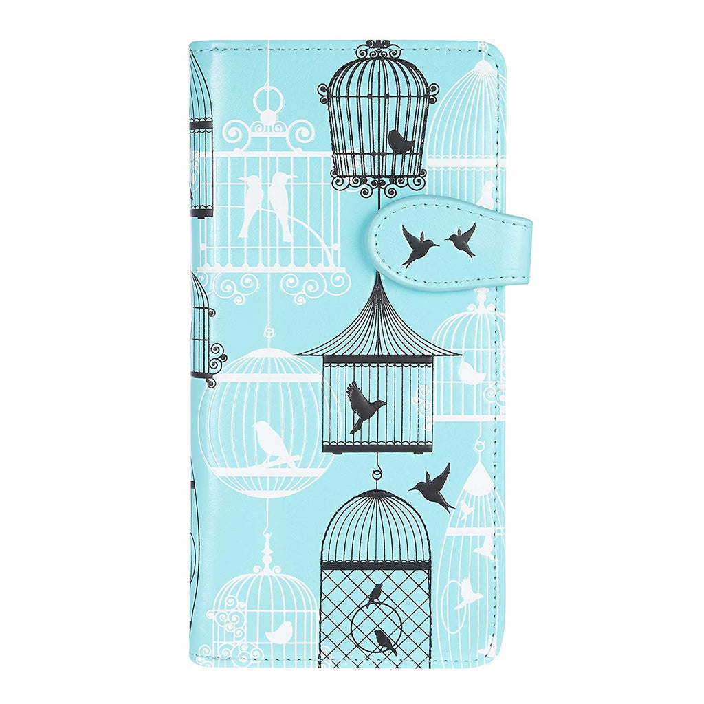 ...z Vintage bird cages aqua