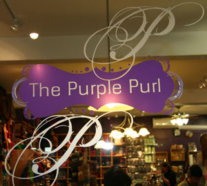 Purple Purl Window