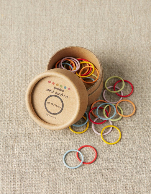 Cocoknits Colored Ring Stitch Markers - Jumbo